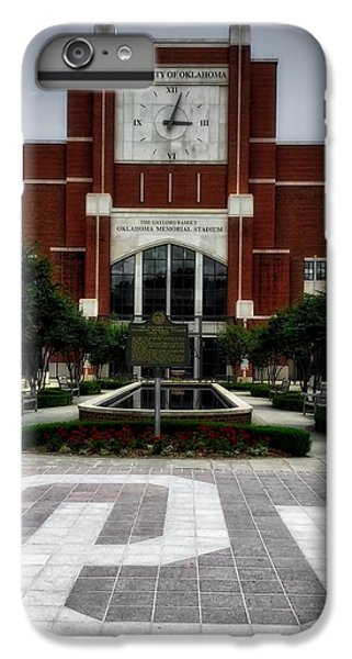 Oklahoma Memorial Stadium IPhone 7 Plus Case by Center For Teaching Excellence