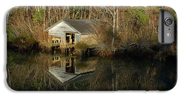 Shrimp Boats iPhone 7 Plus Case - Old Boat House by Michael Thomas