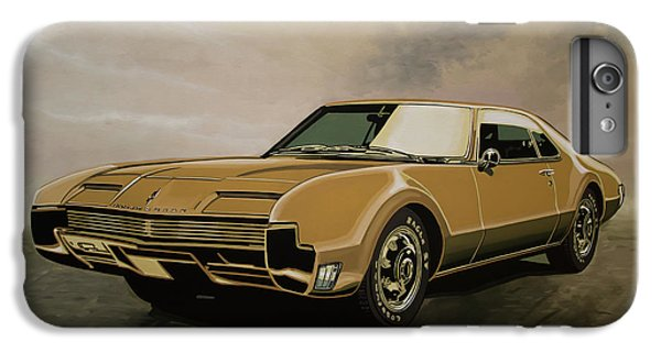 Falcon iPhone 7 Plus Case - Oldsmobile Toronado 1965 Painting by Paul Meijering