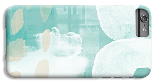 Beach iPhone 7 Plus Case - On The Shore- Abstract Painting by Linda Woods