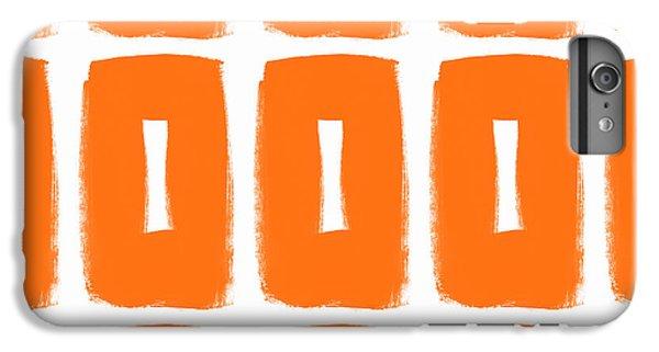 Orange Boxes- Art By Linda Woods IPhone 7 Plus Case by Linda Woods