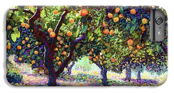Orange Grove Of Citrus Fruit Trees IPhone 7 Plus Case