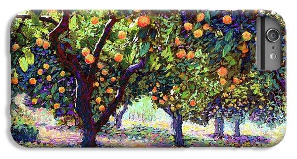 Orange Grove Of Citrus Fruit Trees IPhone 7 Plus Case