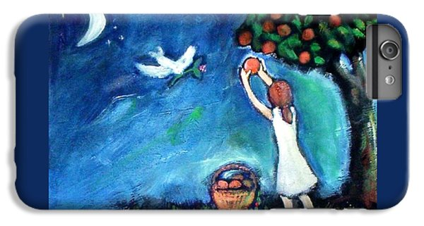 IPhone 7 Plus Case featuring the painting Oranges Song by Winsome Gunning