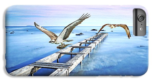 Osprey iPhone 7 Plus Case - Osprey On The Move by Laura D Young