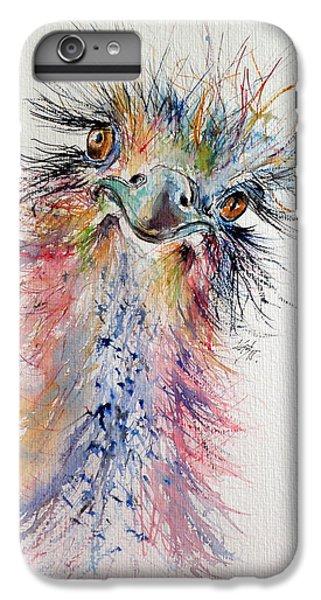 Ostrich IPhone 7 Plus Case by Kovacs Anna Brigitta
