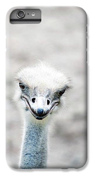 Ostrich IPhone 7 Plus Case by Lauren Mancke