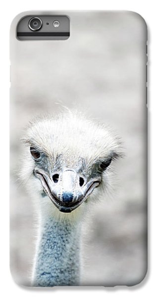 Ostrich IPhone 7 Plus Case by Lauren Mancke