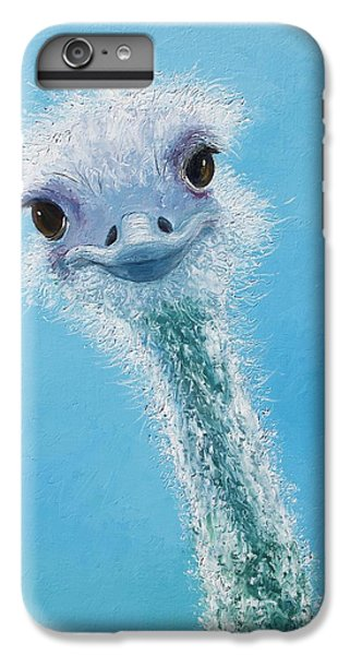 Ostrich Painting IPhone 7 Plus Case