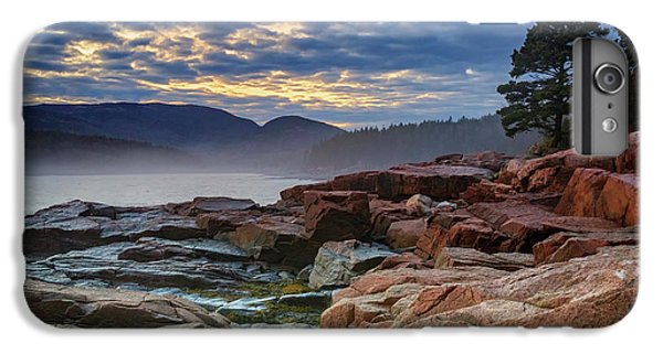 Otter iPhone 7 Plus Case - Otter Cove In The Mist by Rick Berk