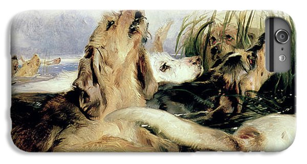 Otter iPhone 7 Plus Case - Otter Hounds by Sir Edwin Landseer
