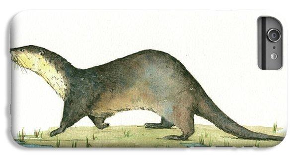 Otter iPhone 7 Plus Case - Otter by Juan Bosco