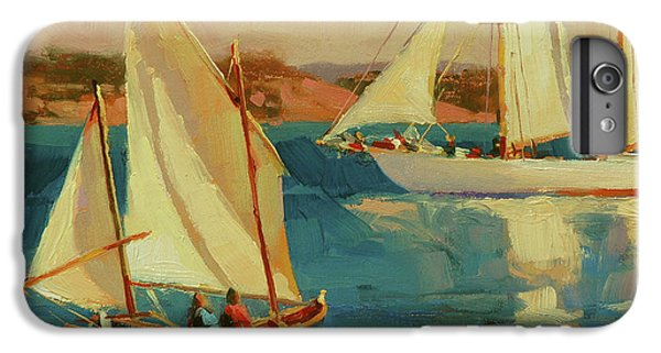 Boats iPhone 7 Plus Case - Outing by Steve Henderson