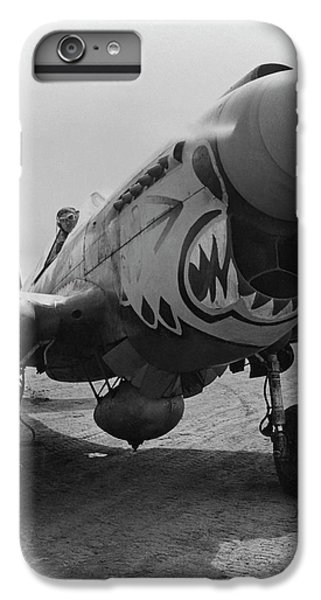 Tiger iPhone 7 Plus Case - P-40 Warhawk - Flying Tiger by War Is Hell Store