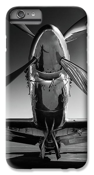 Airplane iPhone 7 Plus Case - P-51 Mustang by John Hamlon
