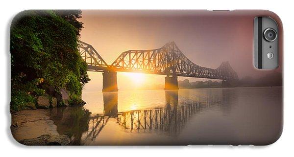 Beaver iPhone 7 Plus Case - P And Le Ohio River Railroad Bridge by Emmanuel Panagiotakis
