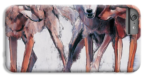 Wolves iPhone 7 Plus Case - Pack Leaders by Mark Adlington