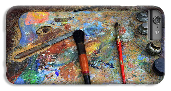 IPhone 7 Plus Case featuring the photograph Painter's Palette by Jessica Jenney