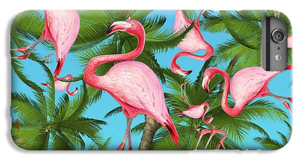 Pattern iPhone 7 Plus Case - Palm Tree by Mark Ashkenazi