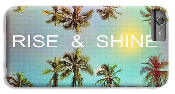 Palm Trees IPhone 7 Plus Case by Mark Ashkenazi