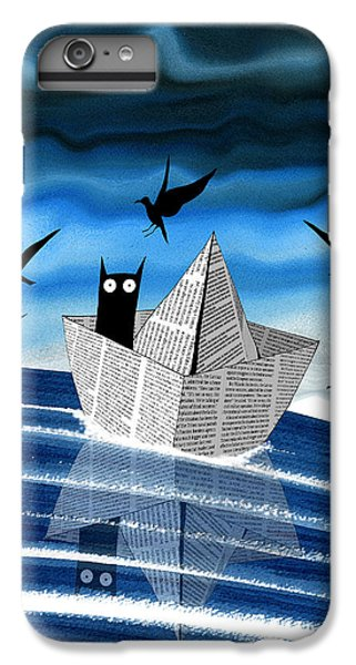 Fairy iPhone 7 Plus Case - Paper Boat  by Andrew Hitchen