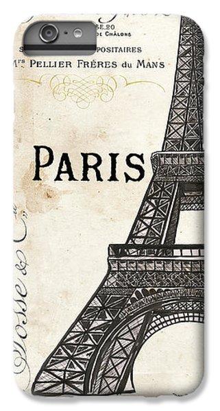 Eiffel Tower iPhone 7 Plus Case - Paris, Ooh La La 1 by Debbie DeWitt