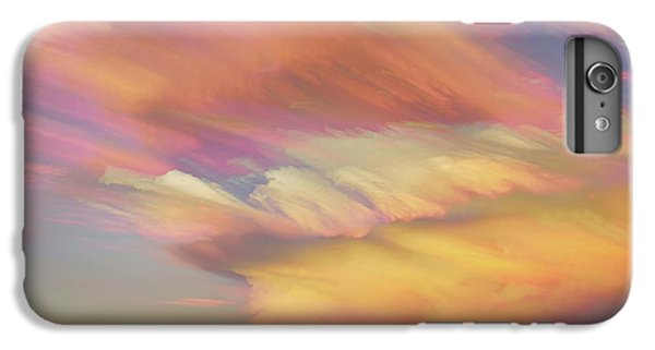 IPhone 7 Plus Case featuring the photograph Pastel Painted Big Country Sky by James BO Insogna