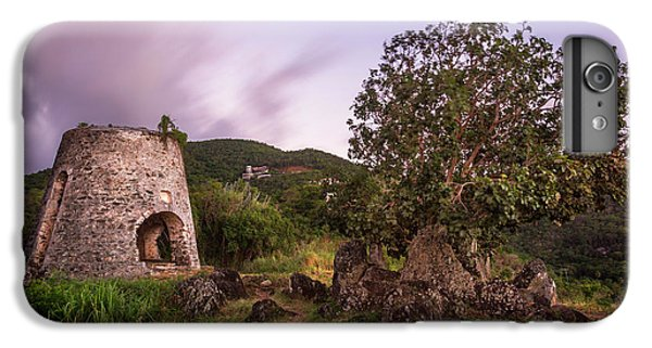 IPhone 7 Plus Case featuring the photograph Peace Hill Ruins by Adam Romanowicz