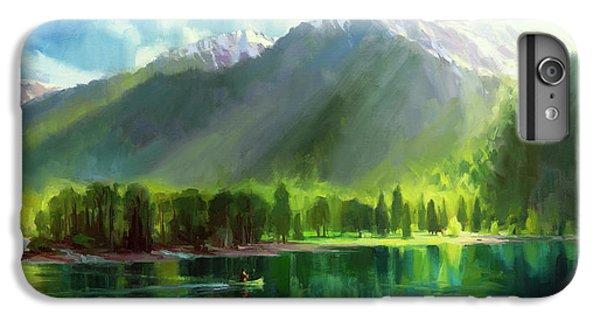 Lake iPhone 7 Plus Case - Peace by Steve Henderson