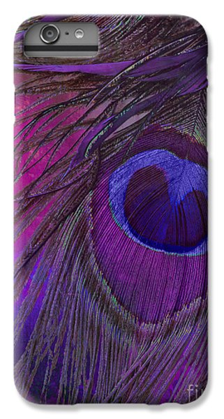 Peacock Candy Purple  IPhone 7 Plus Case by Mindy Sommers