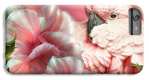Peek A Boo Cockatoo IPhone 7 Plus Case by Carol Cavalaris