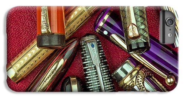 Swan iPhone 7 Plus Case - Pen Caps Still Life by Tom Mc Nemar
