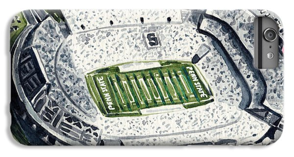 Penn State Beaver Stadium Whiteout Game University Psu Nittany Lions Joe Paterno IPhone 7 Plus Case