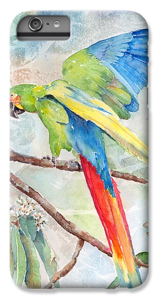 Macaw iPhone 7 Plus Case - Perfect Landing by Arline Wagner
