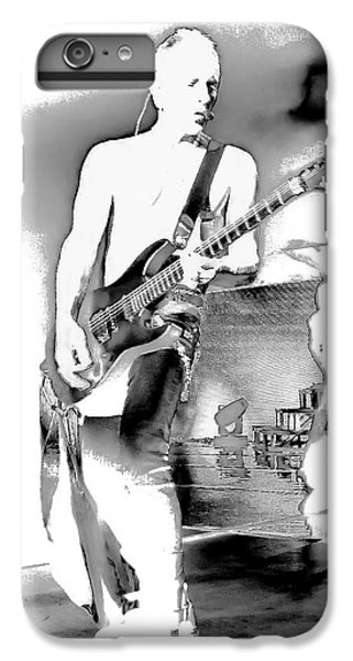 Phil Collen Of Def Leppard IPhone 7 Plus Case by David Patterson
