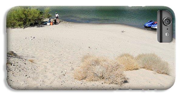 Jet Ski iPhone 7 Plus Case - Picnic On Lake Mohave by Julie Niemela