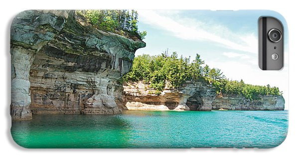 Lake Superior iPhone 7 Plus Case - Pictured Rocks by Michael Peychich
