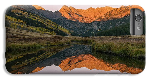 IPhone 7 Plus Case featuring the photograph Piney River Panorama by Aaron Spong