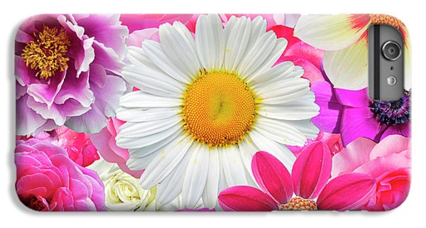 Pink Flowers  IPhone 7 Plus Case