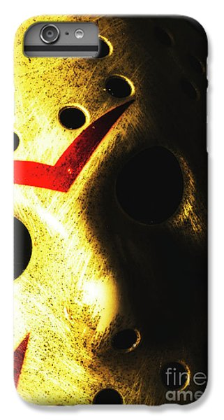 Hockey iPhone 7 Plus Case - Playing The Intimidator by Jorgo Photography - Wall Art Gallery
