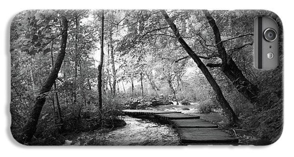 Plitvice In Black And White IPhone 7 Plus Case