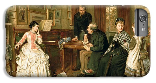 Swallow iPhone 7 Plus Case - Poor Relations by George Goodwin Kilburne