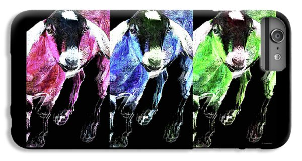 Pop Art Goats Trio - Sharon Cummings IPhone 7 Plus Case by Sharon Cummings