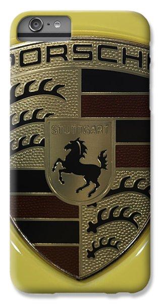 Porsche Emblem On Racing Yellow IPhone 7 Plus Case