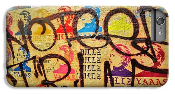 Post No Bills Hillary Clinton  IPhone 7 Plus Case by Funkpix Photo Hunter