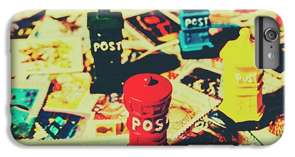 IPhone 7 Plus Case featuring the photograph Postage Pop Art by Jorgo Photography - Wall Art Gallery