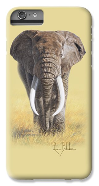 Bull iPhone 7 Plus Case - Power Of Nature by Lucie Bilodeau