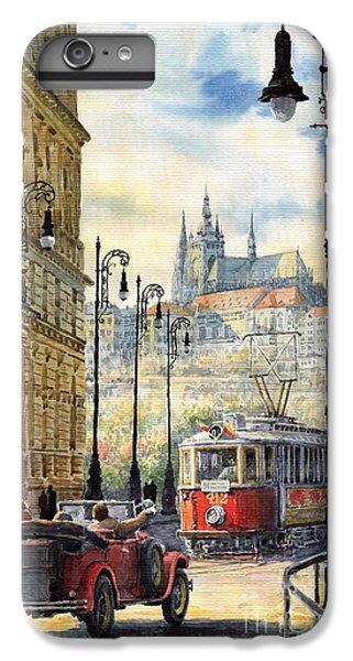 City Scenes iPhone 7 Plus Case - Prague Kaprova Street by Yuriy Shevchuk