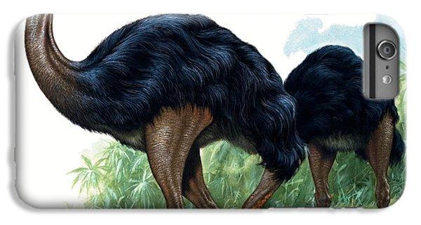 Emu iPhone 7 Plus Case - Pre-historic Birds by David Nockels