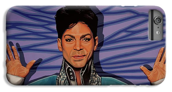 Rhythm And Blues iPhone 7 Plus Case - Prince 2 by Paul Meijering